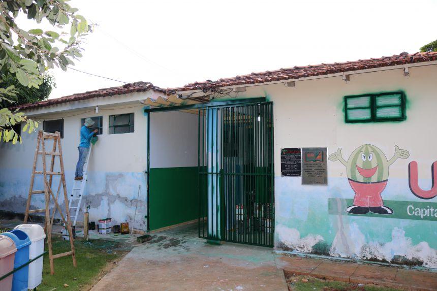 REPAROS NA ESCOLA JOÃO JOSÉ FERREIRA - URUITA