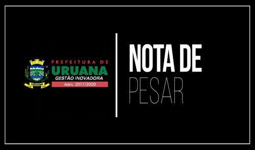 PREFEITURA EMITE NOTA DE PESAR APÓS FALECIMENTO DA SENHORA IOLANDA