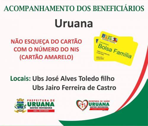 Acompanhamento de saúde dos beneficiários do Bolsa Família!