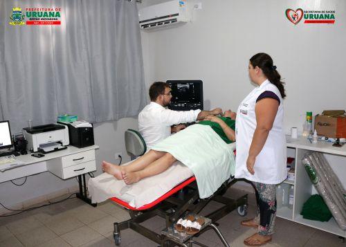 SECRETARIA MUNICIPAL DE SAÚDE REALIZA EXAMES DE ULTRASSOM