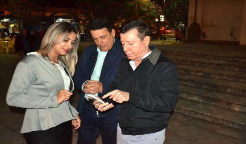 PREFEITO CÁSSIO GUSMÃO RECEBE DEPUTADO ESTADUAL JOSÉ NELTO E PARTICIPAM DE MISSA