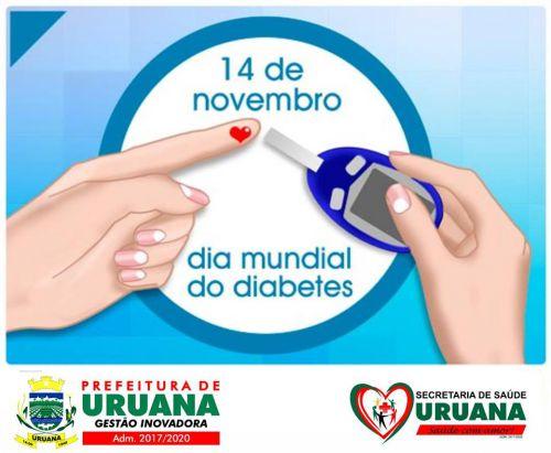 DIA MUNDIAL DO DIABETES 2018.