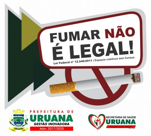FUMAR NÃO É LEGAL