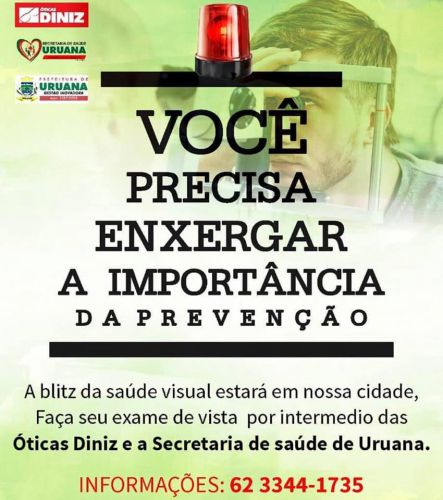 POVOADO DO CRUZEIRO A BLITZ DA SAÚDE ESTA CHEGANDO DIA 22/11