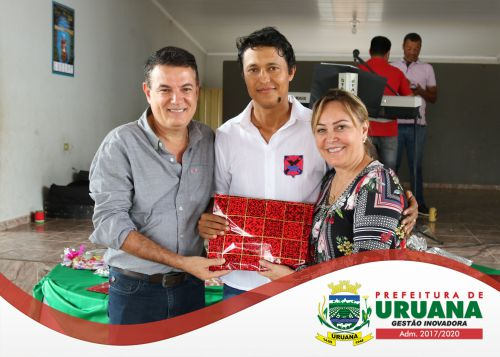 DIA DO GARI: PROFISSIONAIS RECEBEM HOMENAGEM DA PREFEITURA DE URUANA