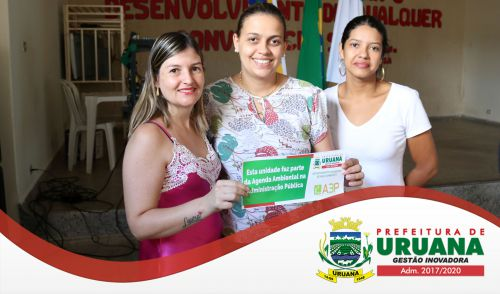 EVENTO MARCA IMPLANTAÇÃO DE AGENDA AMBIENTAL NO MUNICÍPIO