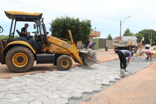 OBRAS A TODO VAPOR NO MUNICÍPIO DE URUANA