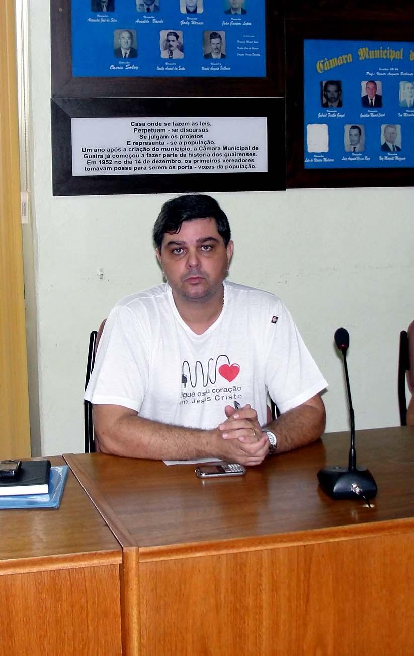 Vereador Rossano Fran�a Triches