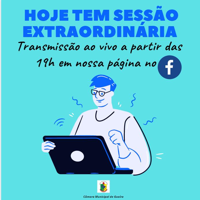 PAUTA DA 9ª SESSÃO EXTRAORDINÁRIA DE 2020