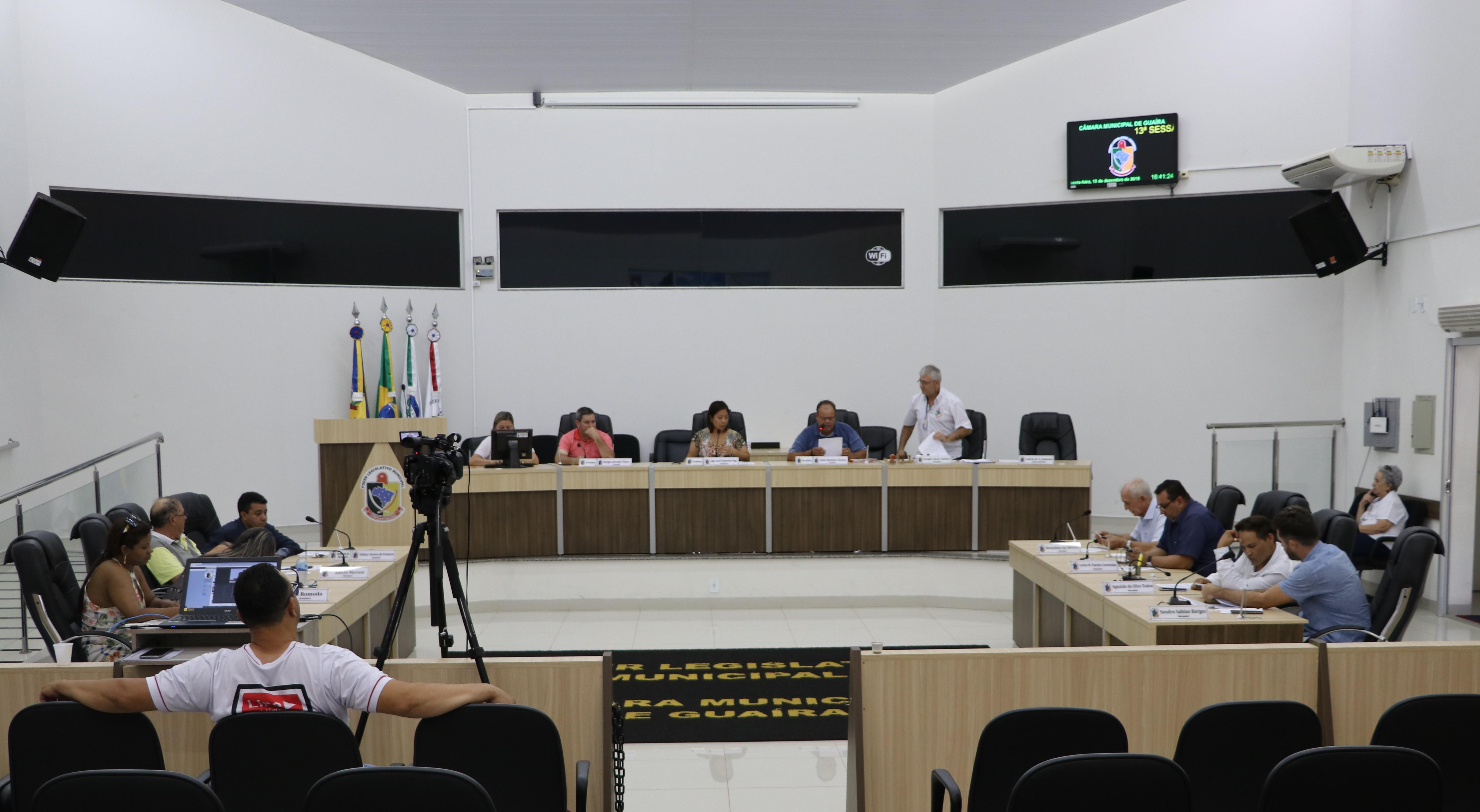 SAIBA O QUE FOI VOTADO NA 15ª SESSÃO EXTRAORDINÁRIA