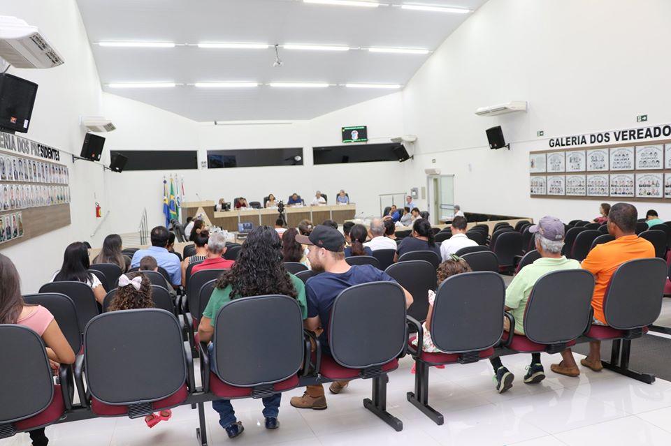 PAUTA DA 34ª SESSÃO ORDINÁRIA, QUE ACONTECE SEGUNDA-FEIRA (11) A PARTIR DAS 20H00