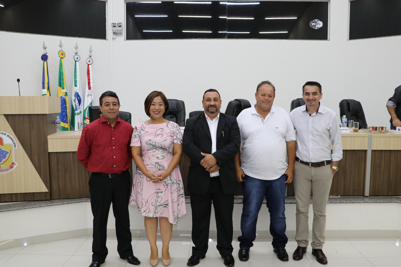 MESA DIRETIVA 2020 TOMA POSSE SIMBÓLICA EM SESSÃO EXTRAORDINÁRIA