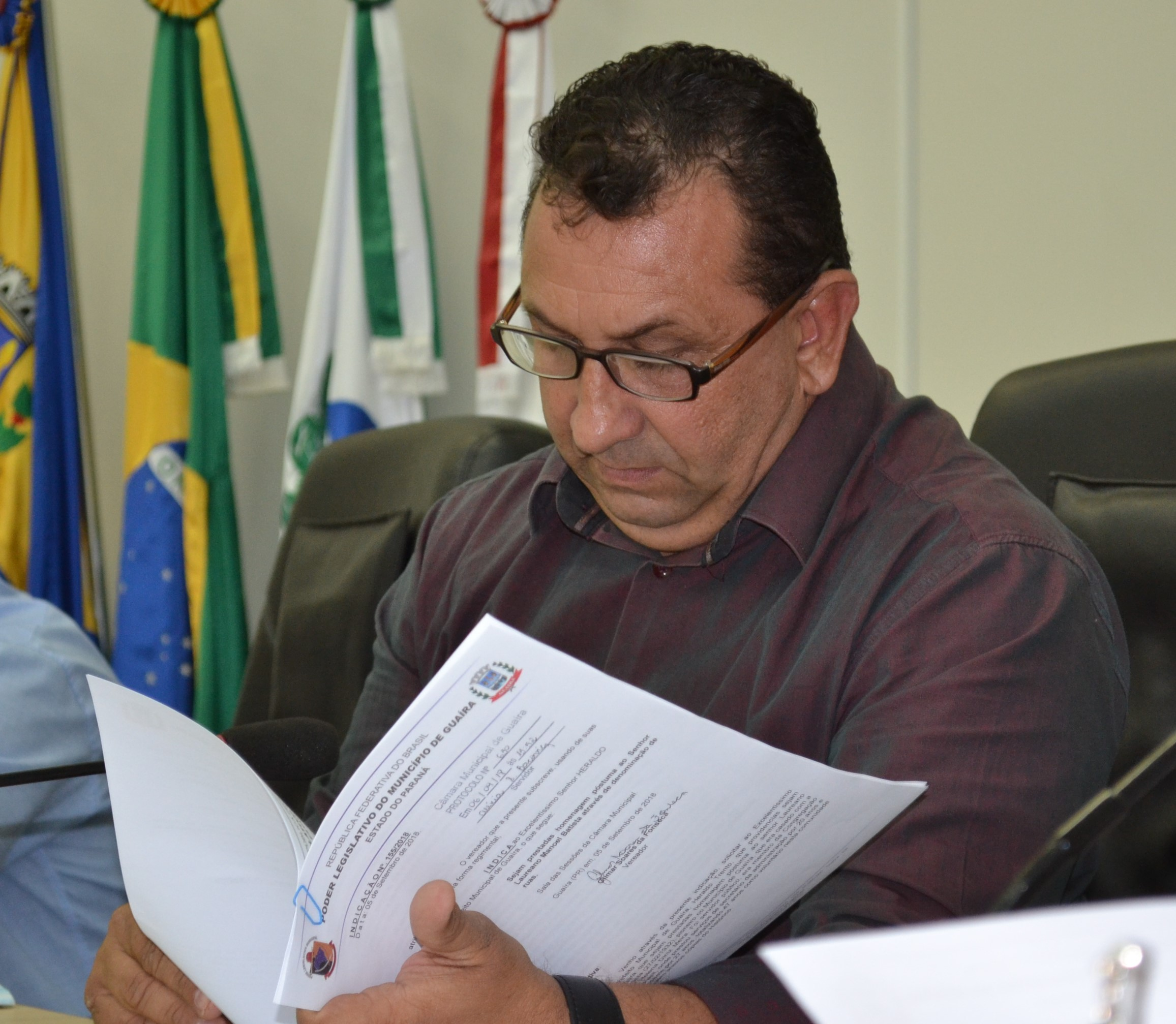 APÓS PUBLICAÇÃO DO RELATÓRIO DE DEMARCAÇÃO DE TERRAS EM DIÁRIO OFICIAL, O PRESIDENTE DA CÂMARA PEDE CALMA AOS GUAIRENSES