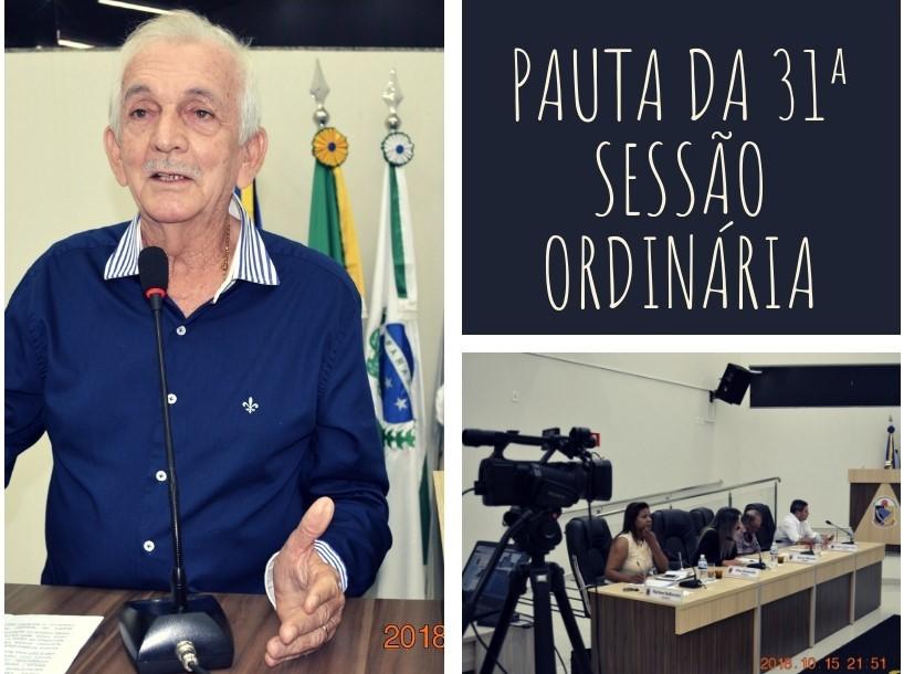 SERÃO VOTADOS PROJETOS DE LEI, EMENDA MODIFICATIVA E PROJETO DE RESOLUÇÃO NA SEGUNDA-FEIRA (22)