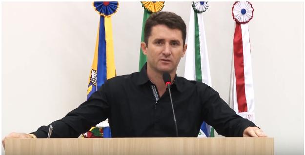 VEREADOR FALOU DOS TRABALHOS REALIZADOS NO PODER LEGISLATIVO NESTE ANO DE 2017