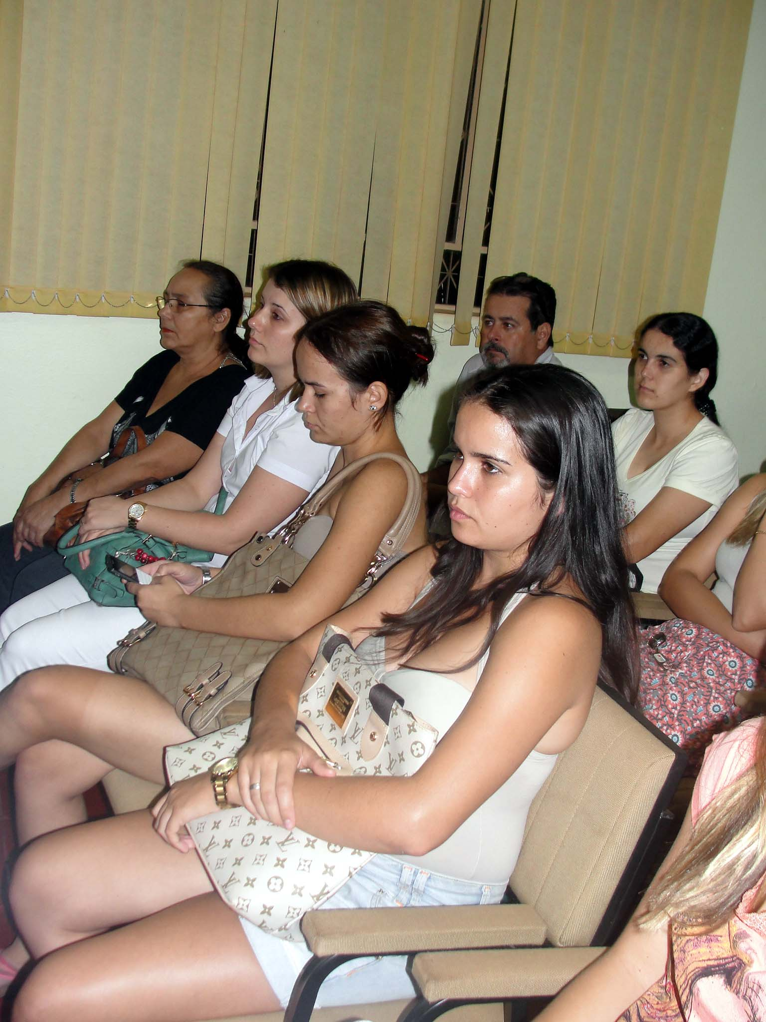 Guairenses participam da audiência