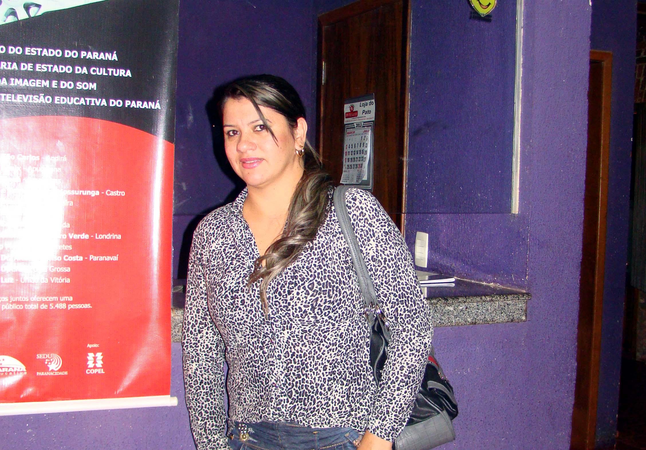 Vereadora Mirian Teleste compareceu ao evento