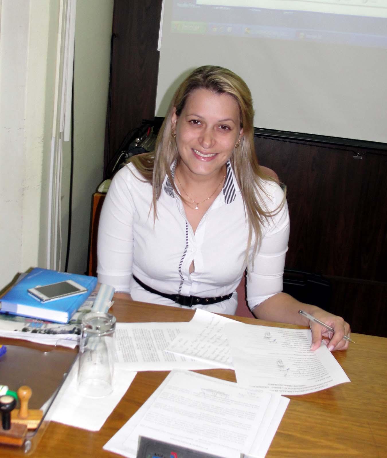 Vereadora Franciele Danelon lembrou as qualidades de Lilian