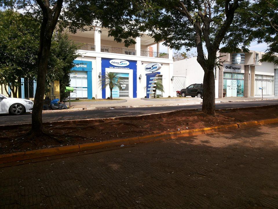 Rua Castro Alves. Almir protocolou uma indicação para calçamento do canteiro central.