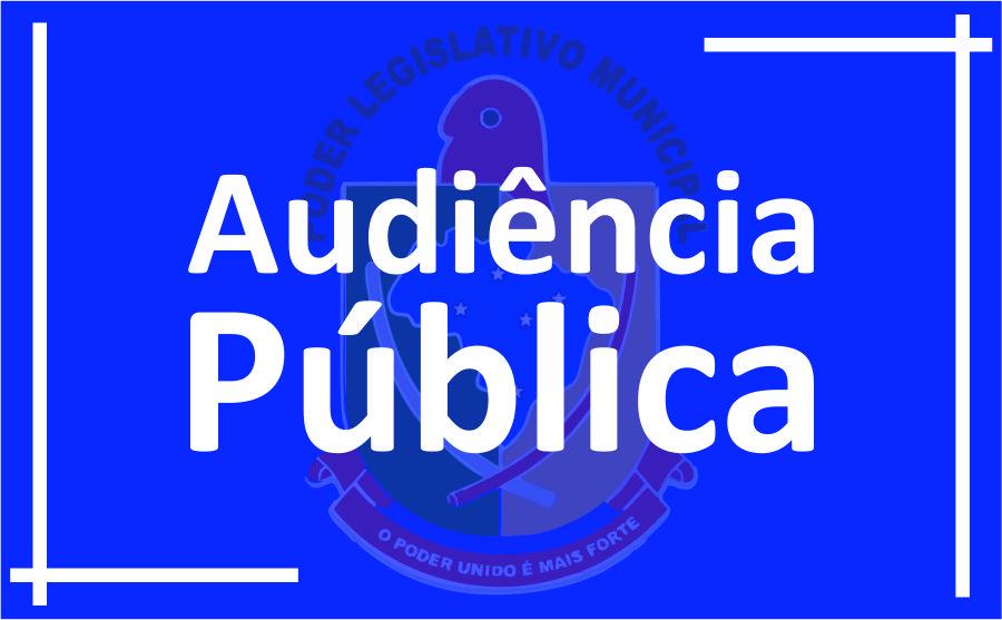 PODER LEGISLATIVO CONVIDA A POPULAÇÃO GUAIRENSE PARA PARTICIPAR DE AUDIÊNCIA PÚBLICA