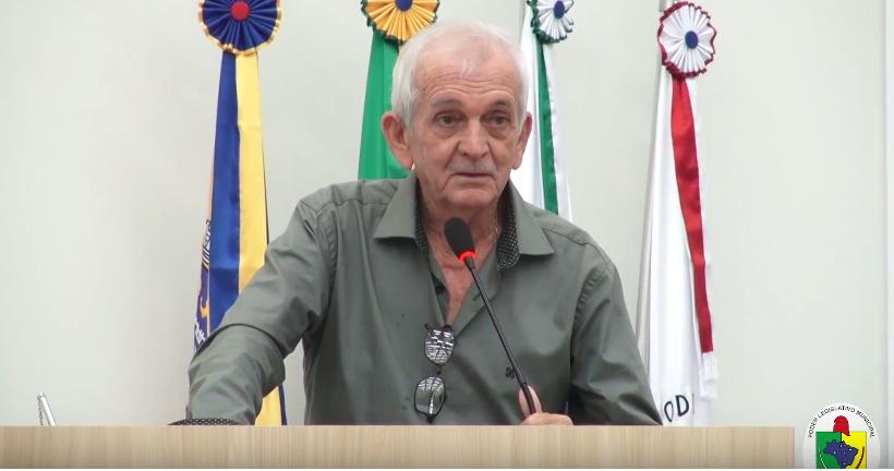 PREOCULPAÇÃO COM O FECHAMENTO DAS INDUSTRIAS DE COSTURA EM GUAÍRA E DEMARCAÇÃO DE TERRAS SÃO DESTAQUES DE VEREADOR