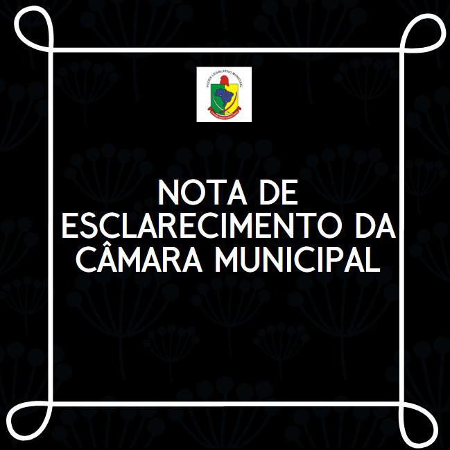 A CÂMARA MUNICIPAL DE GUAÍRA ESCLARECE BOATOS SOBRE PERSEGUIÇÃO À FUNCIONÁRIO