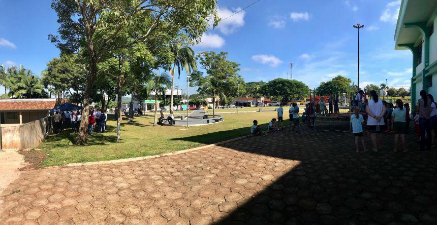 """Projeto """"Onça na Praça"""""""