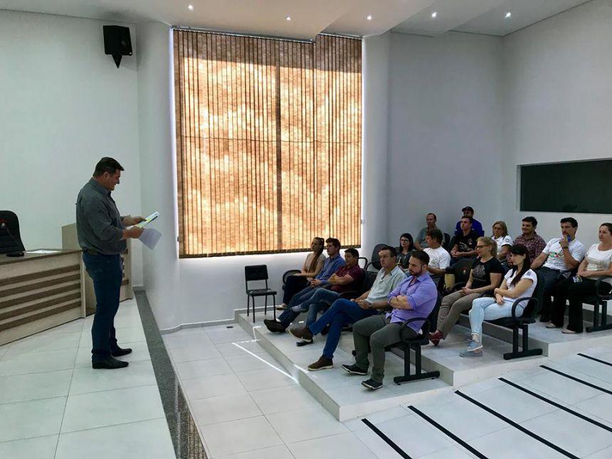 Audiência Pública referente ao Conselho Municipal de Desenvolvimento Urbano e Rural.