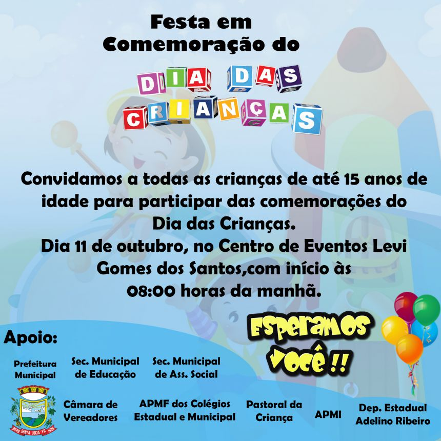 Dia das Crianças!