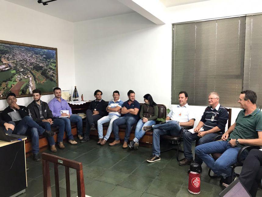 Convênios para Santa Lúcia através da Itaipu Binacional