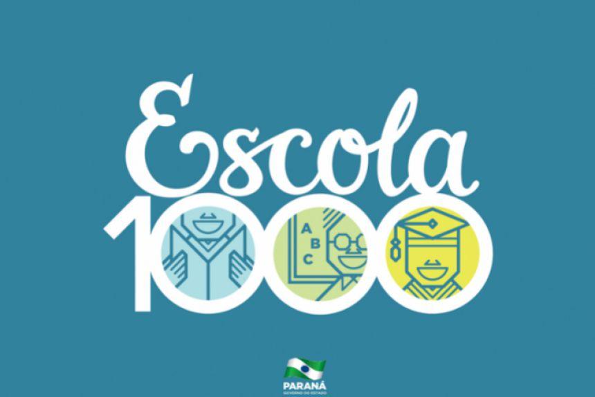 Entrega da Reforma Escola 1000