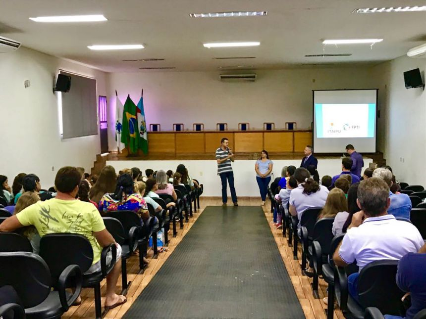 Educação Financeira em Parceria com a ITAIPU BINACIONAL