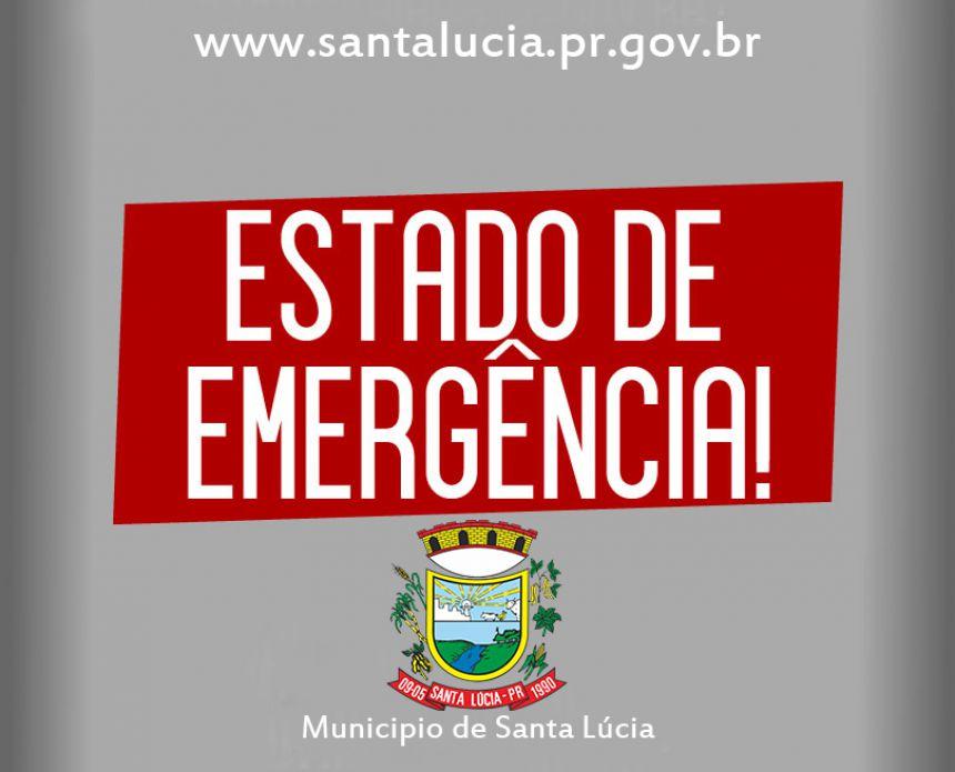 Estado de Emergência!
