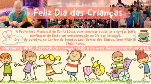 Festa Comemorativa ao Dia das Crianças