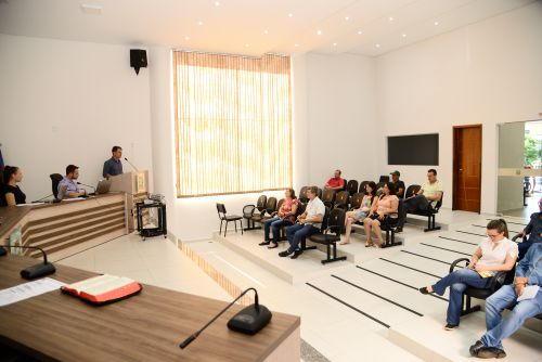 Audiência referente ao  Plano Diretor Municipal.