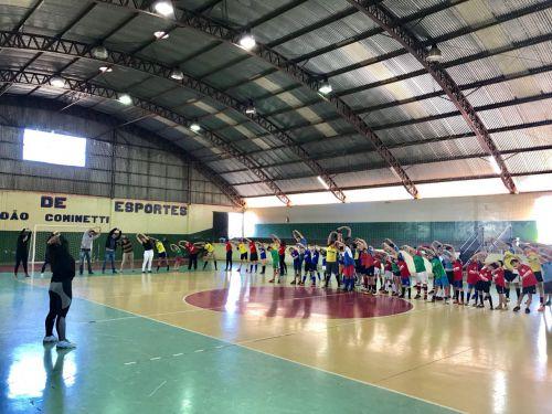 Lançamento do Projeto Esporte para toda Vida