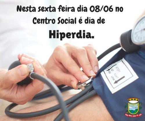 Convite Hiperdia!