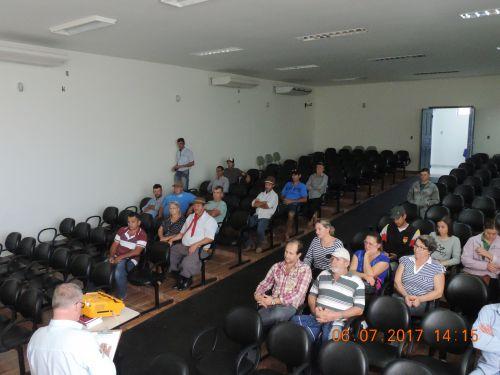 Palestras Técnicas para Agricultores são Ministradas pela Emater