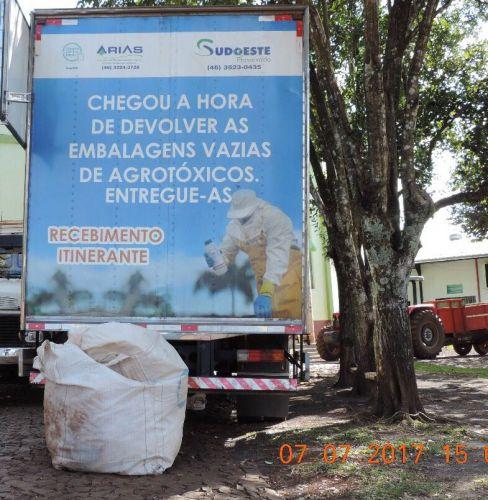 Campanha de Recolhimento das Embalagens de Agrotóxicos Acontece no Município de Santa Lúcia