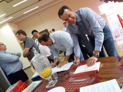 Plano de Ação entre a Prefeitura e a Itaipu.