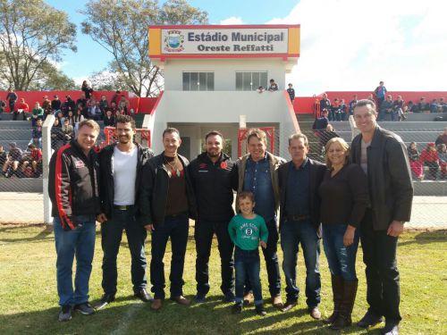 Inauguração Estádio Municipal Oreste Reffatti