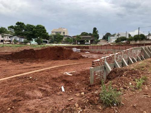 Adequação do Terreno para Instalação da Quadra Multiesportiva!
