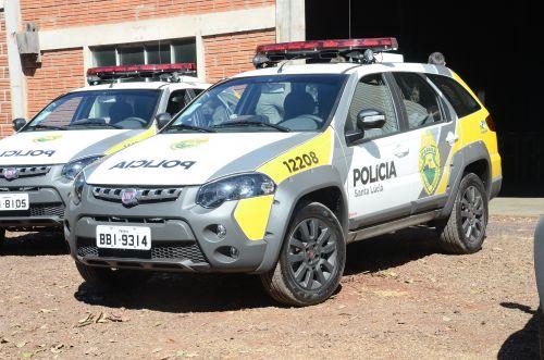 SANTA LÚCIA RECEBE NOVA VIATURA PARA POLICIA MILITAR