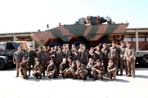 Visita ao 33 Batalhão de Infantaria Motorizado