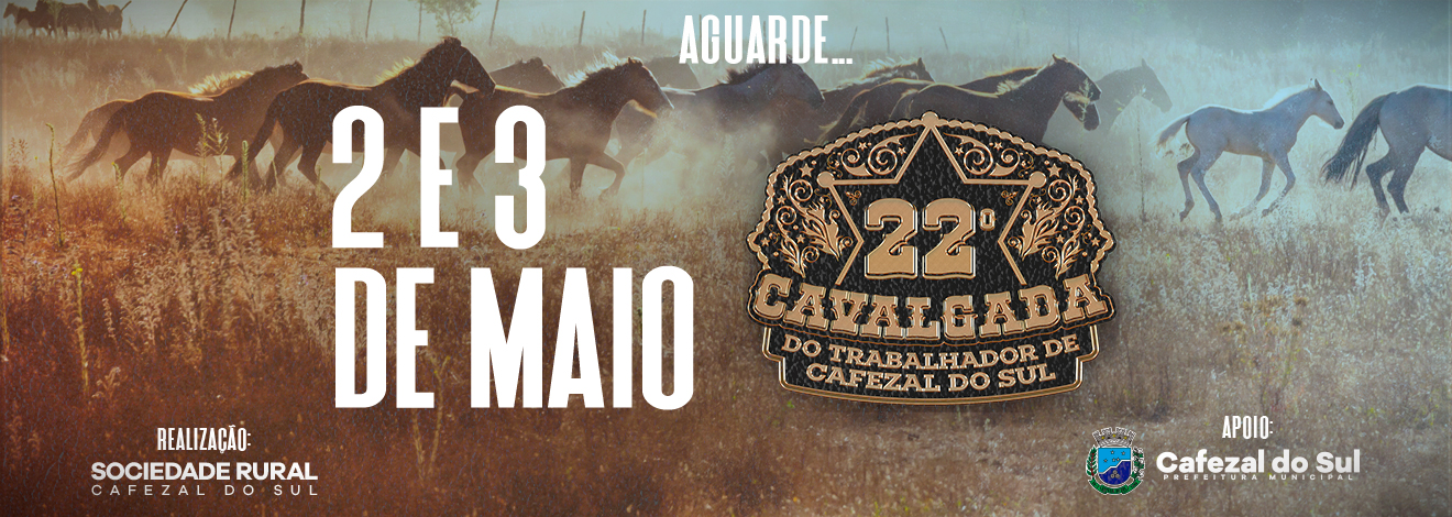 22° CAVALGADA DE CAFEZAL DO SUL