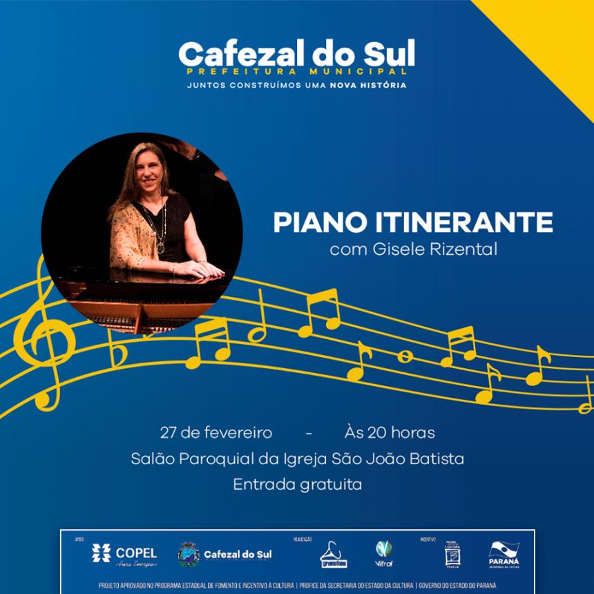 Projeto Piano Itinerante