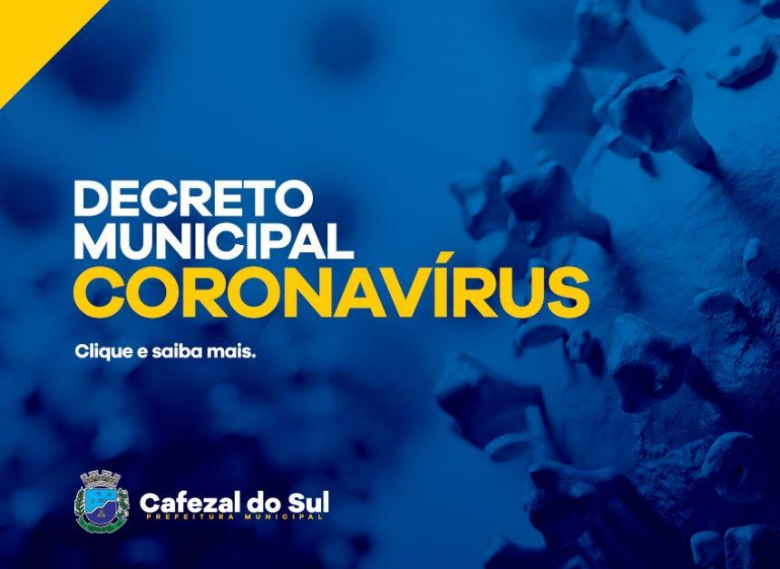 Pronunciamento do prefeito Juninho a respeito do Decreto Municipal Coronavírus