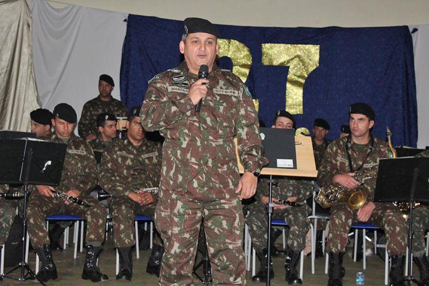 Apresentação da Banda de Música da 15º Brigada de Infantaria Mecanizada de Cascavel