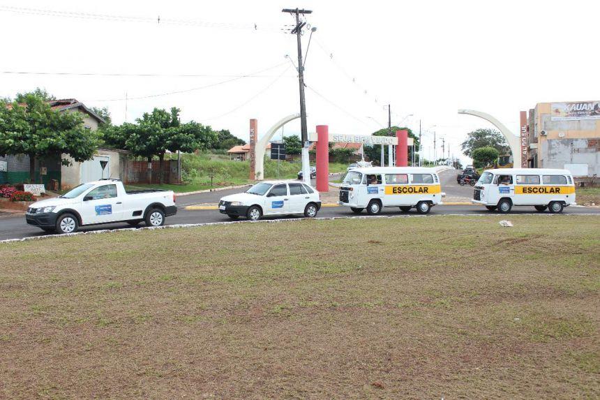 Administração municipal investe em novos carros para sua frota.