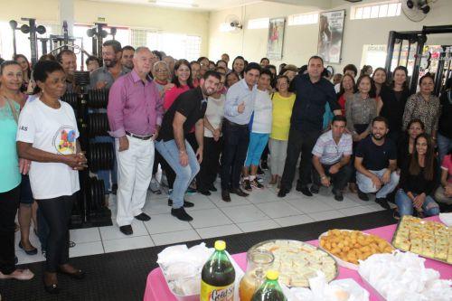 Inauguração do programa Ginástica Municipal da Terceira Idade